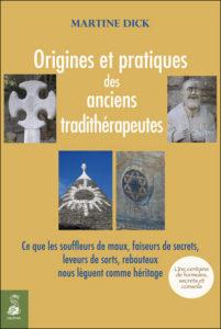 pochette livre Origines et pratiques des anciens tradithérapeutes